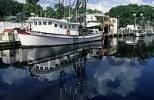 Thumbnail fishing boats at Bayou Terrebonne, Mississippi delta