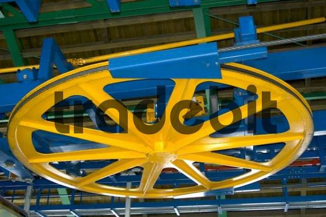 Product picture Traction wheel cabel car Grimentz Valais Switzerland