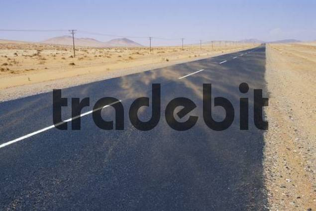 Product picture Road in sandstorm Namibia