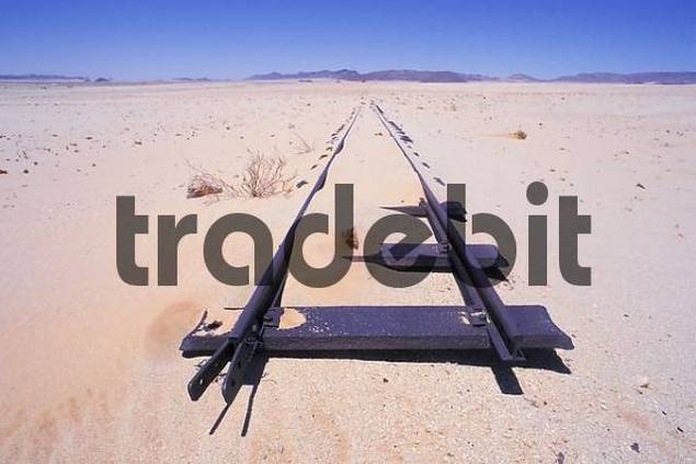 Product picture Closed tracks in sand Namibia