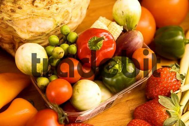 Product picture choice of vegetables